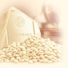 Callebaut 25.9% White Chocolate Callets  CW2