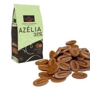 """Valrhona """"Azelia"""" Hazelnut/Milk Chocolate feves 3 kg"""