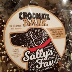Chocolate BARK! Sally's Fav 8 oz