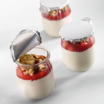 Almond Inspiration Panna cotta